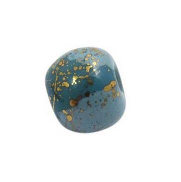 blue beads_ 2607