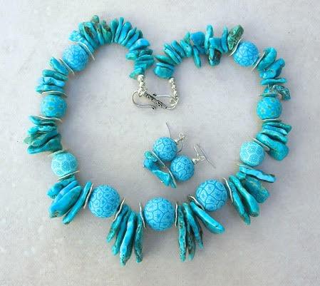 Turquoise bindu necklace 2