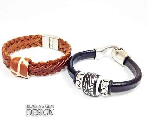 kazuri west slider bracelets LOGO