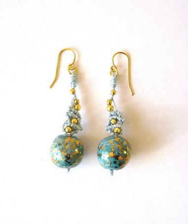 ifat nesher micromacrame kazuri earrings 6