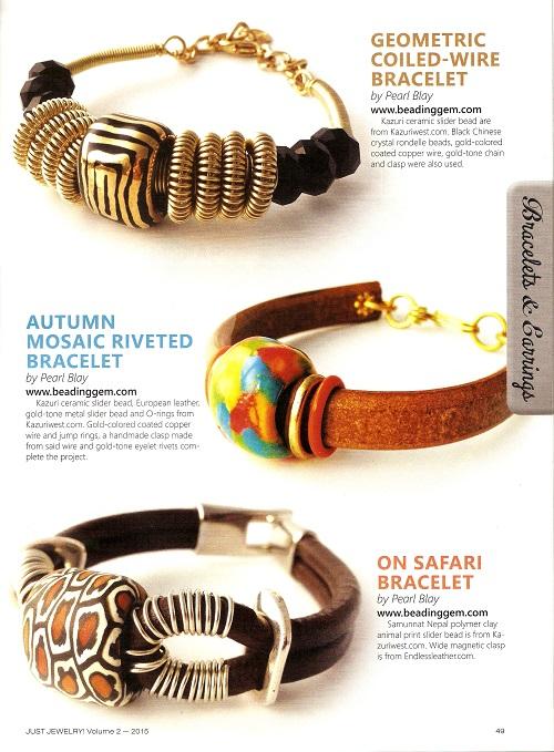 just jewelry beading gem design bracelets 2