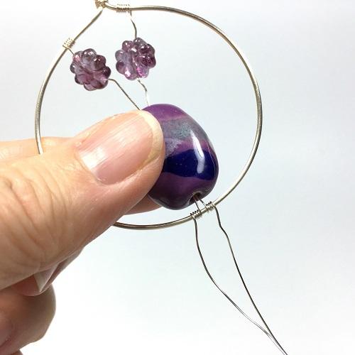 wire vase pendant tutorial 5